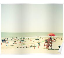 One Summer Day at the Beach Poster