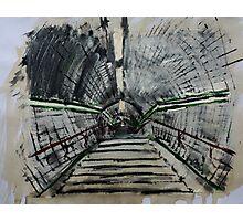 London Underground Urban Cityscape Subway Station Contemporary Acrylic Painting Photographic Print