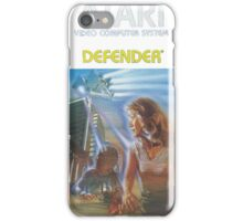 Atari Defender  iPhone Case/Skin