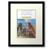 Atari Defender  Framed Print