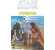 Atari Defender  Photographic Print
