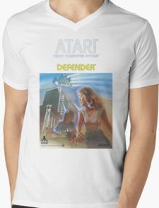 Atari Defender  Mens V-Neck T-Shirt