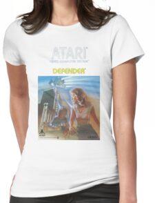 Atari Defender  Womens Fitted T-Shirt