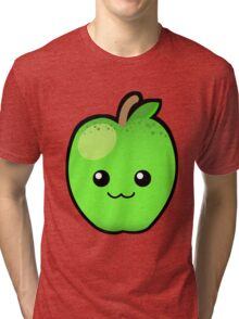 Green Granny Smith Apple Tri-blend T-Shirt