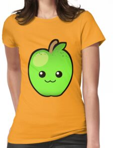 Green Granny Smith Apple Womens Fitted T-Shirt