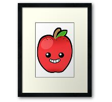 Red Delicious Apple Framed Print