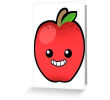 Red Delicious Apple Greeting Card