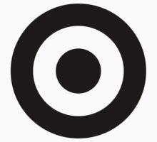 Black & White Mod Roundel One Piece - Long Sleeve