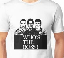 Who's The Boss Lineup  Unisex T-Shirt