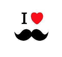 I love hipsters and moustaches by hipsterapparel
