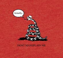 Don't Mansplain Me Tri-blend T-Shirt