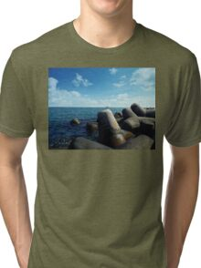 black sea Tri-blend T-Shirt