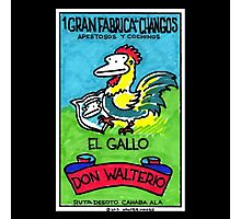Loteria Apes #1: El Gallo Photographic Print