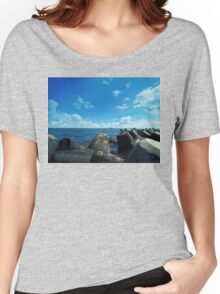 black sea Women's Relaxed Fit T-Shirt
