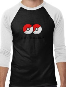 Got Pokemon Go Poke Balls? Men's Baseball ¾ T-Shirt