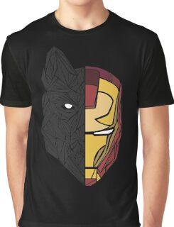 Game Of Thrones / Iron Man: Stark Family Graphic T-Shirt