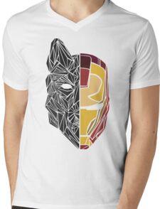 Game Of Thrones / Iron Man: Stark Family Mens V-Neck T-Shirt