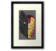 Game Of Thrones / Iron Man: Stark Family Framed Print