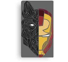 Game Of Thrones / Iron Man: Stark Family Canvas Print