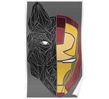 Game Of Thrones / Iron Man: Stark Family Poster