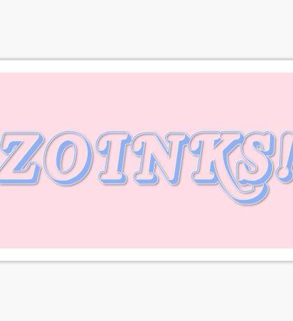 "Pastel ""Zoinks!""  Sticker"