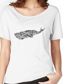 Stripes and Whales Women's Relaxed Fit T-Shirt