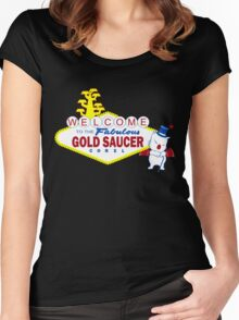 Fabulous Gold Saucer Alternate Women's Fitted Scoop T-Shirt