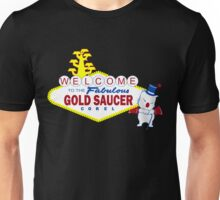Fabulous Gold Saucer Alternate Unisex T-Shirt