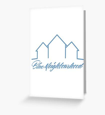 Troye Sivan Blue Neighbourhood Greeting Card