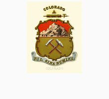 Historical Coat of Arms of Colorado  Unisex T-Shirt