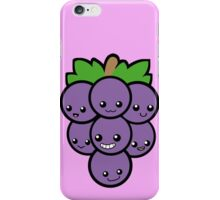 Fruit of the Vine: Purple Grapes iPhone Case/Skin