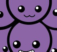 Fruit of the Vine: Purple Grapes Sticker
