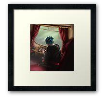 Teddy's First Hogwarts Journey Framed Print