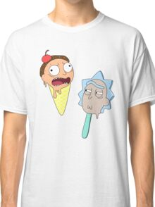 Ice cream Rick and Morty Classic T-Shirt