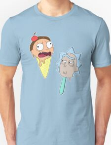 Ice cream Rick and Morty Unisex T-Shirt