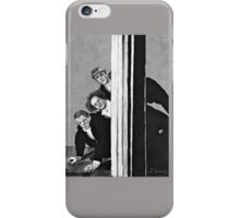 Three Stooges Mania iPhone Case/Skin