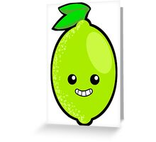 Blimey it's a Lime! Greeting Card