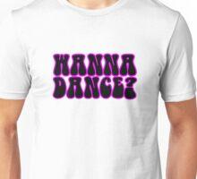 Wanna Dance 80s 70s Retro Disco Neon Music Unisex T-Shirt