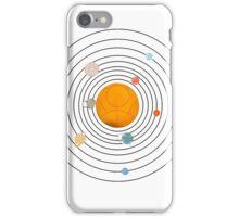 Gallifreyan Solar System - White iPhone Case/Skin