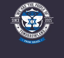 People of Tomorrowland Flags logo Badge - Israel - Israeli Women's Relaxed Fit T-Shirt
