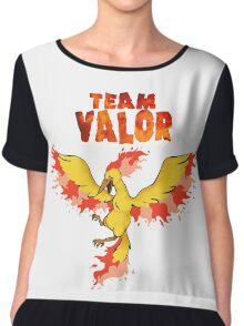 Team Valor: Pokemon Go! Chiffon Top