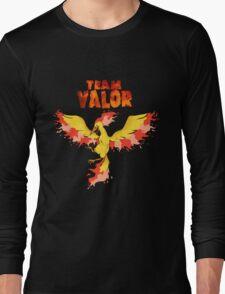Team Valor: Pokemon Go! Long Sleeve T-Shirt