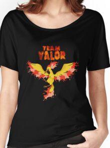 Team Valor: Pokemon Go! Women's Relaxed Fit T-Shirt