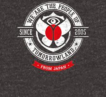 People of Tomorrowland Flags logo Badge - Japan - Japanese - Japon - japonais Unisex T-Shirt