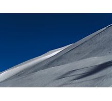 Barren Ski Slope Photographic Print