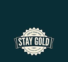 stay gold - alt color. by makeemlaugh