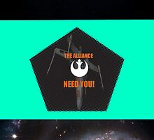 Rebel Alliance Propoganda by LukeTheLegend