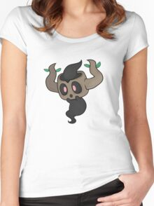 Pokemon X and Y: Phantump Women's Fitted Scoop T-Shirt