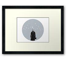 Javert-Stars Framed Print