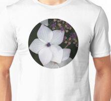 Purple and Blue Hydrangea  Unisex T-Shirt